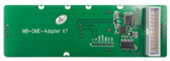 MB-DME-ADAPTER X7 interface board